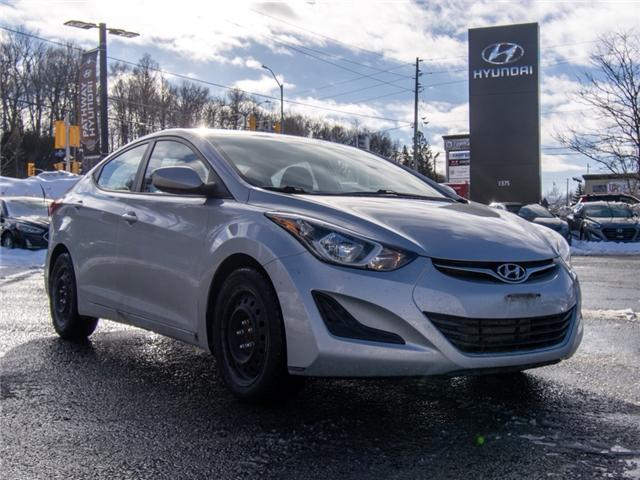 2014 Hyundai Elantra GL (Stk: R86049A) in Ottawa - Image 1 of 11