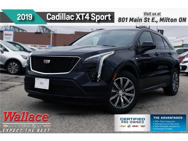 2019 Cadillac XT4 Sport (Stk: 137825) in Milton - Image 1 of 10