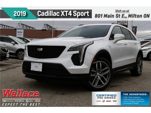 2019 Cadillac XT4 Sport (Stk: 152486) in Milton - Image 1 of 12