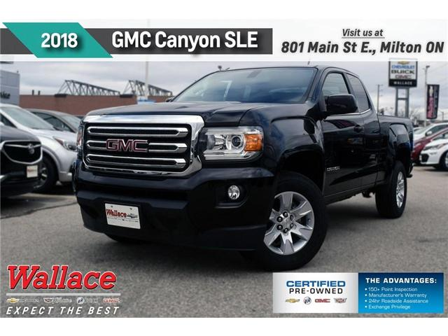 2018 GMC Canyon SLE (Stk: 157815) in Milton - Image 1 of 9
