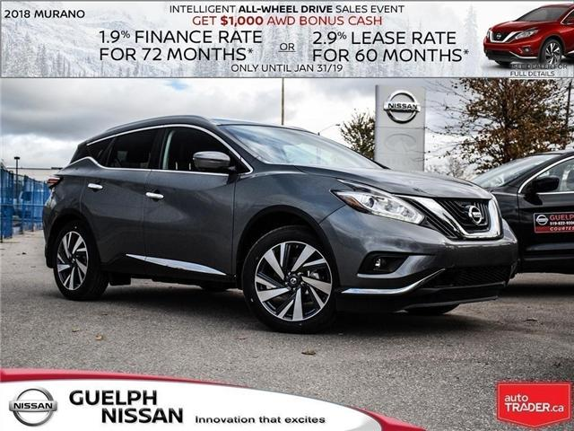 2018 Nissan Murano Platinum (Stk: N19756) in Guelph - Image 1 of 1