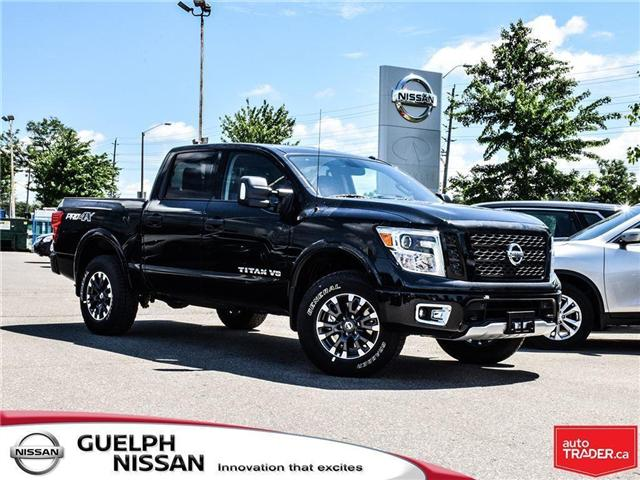 2018 Nissan Titan PRO-4X (Stk: N19527) in Guelph - Image 1 of 22