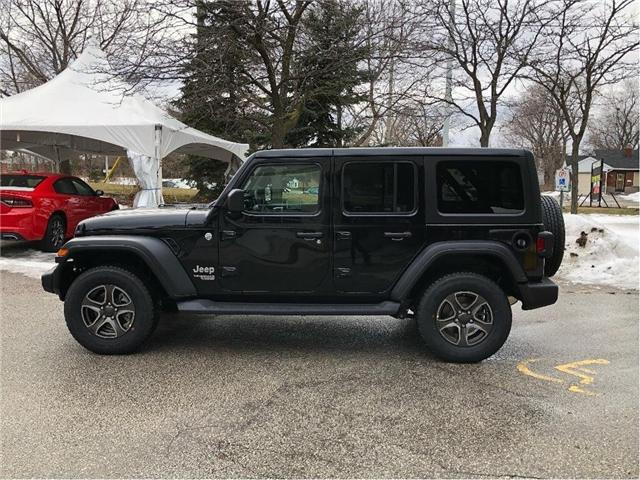 2019 Jeep Wrangler Unlimited Sport (Stk: 194064) in Toronto - Image 2 of 18