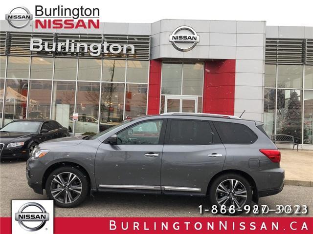 2018 Nissan Pathfinder Platinum (Stk: X4385) in Burlington - Image 1 of 20