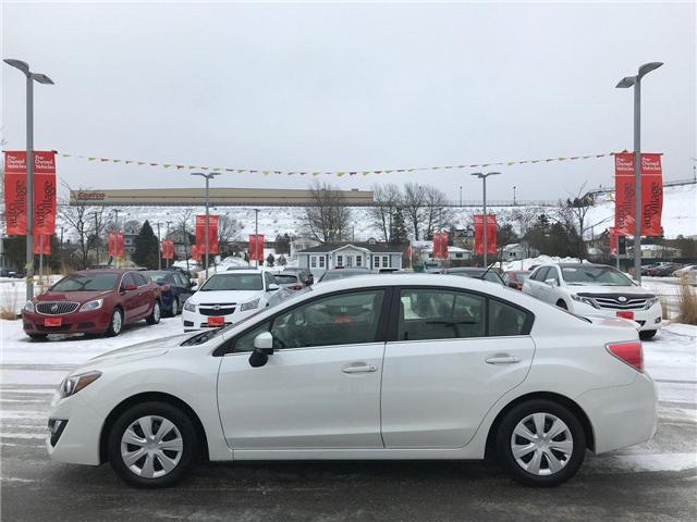 2015 Subaru Impreza 2.0i (Stk: P004737) in Saint John - Image 2 of 32
