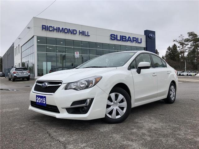2015 Subaru Impreza  (Stk: P03777) in RICHMOND HILL - Image 1 of 19