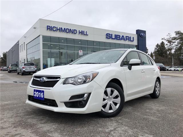 2016 Subaru Impreza 2.0i (Stk: P03779) in RICHMOND HILL - Image 1 of 19