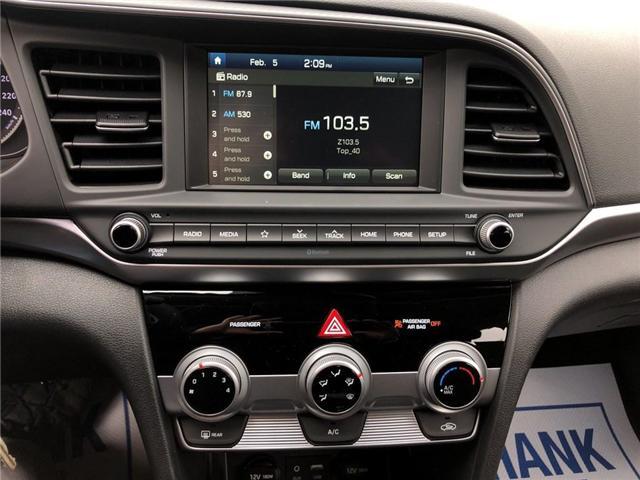 2019 Hyundai Elantra  (Stk: 46244) in Burlington - Image 18 of 25