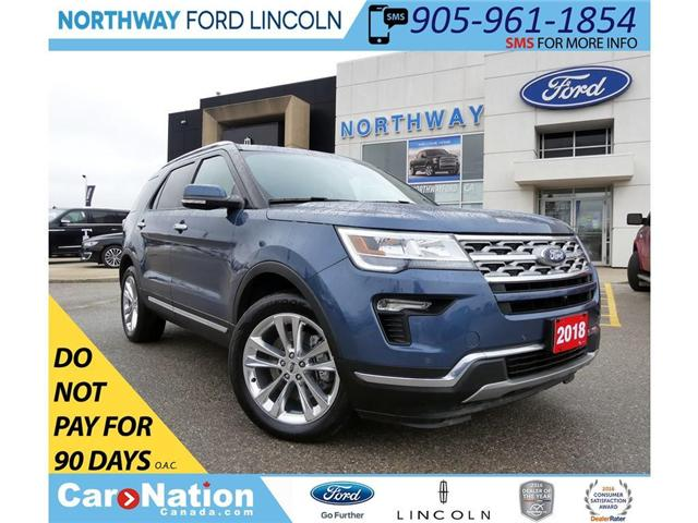 2018 Ford Explorer Limited | PWR LIFTGATE | NAV | PANO ROOF | (Stk: C050) in Brantford - Image 1 of 30