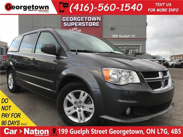 2017 Dodge Grand Caravan Crew | CAPTAINS | DUAL CLIMATE | REAR AIR | (Stk: DR422) in Georgetown - Image 1 of 30