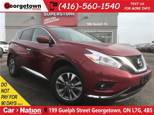 2017 Nissan Murano SV | NAVI | PANO ROOF | AWD | BACK UP CAM (Stk: DR492) in Georgetown - Image 1 of 30