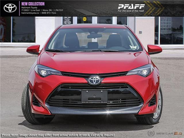 2019 Toyota Corolla 4-door Sedan LE CVTi-S (Stk: H19248) in Orangeville - Image 2 of 23