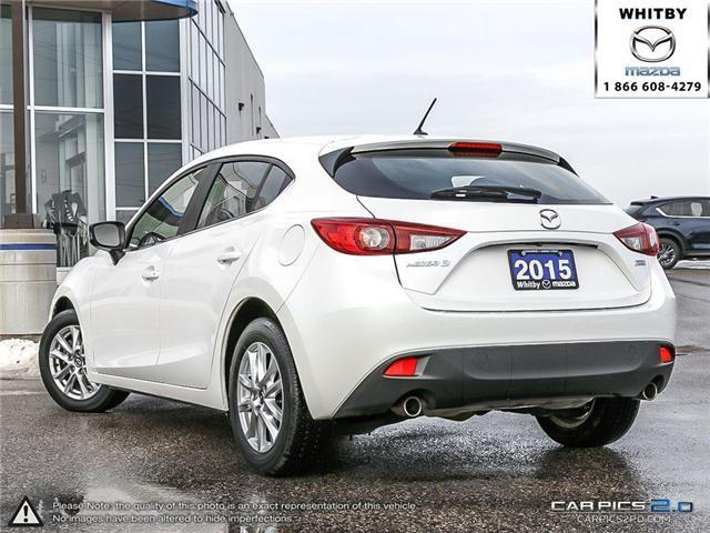 2015 Mazda Mazda3 GS (Stk: P17408) in Whitby - Image 4 of 27