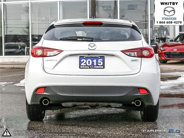 2015 Mazda Mazda3 GS (Stk: P17408) in Whitby - Image 5 of 27