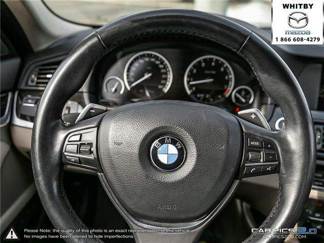 2013 BMW 535i xDrive (Stk: P17387) in Whitby - Image 14 of 27