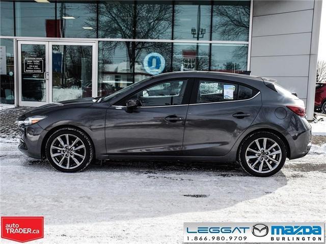 2018 Mazda Mazda3 Sport GT- LEATHER, NAV, BOSE, REAR CAMERA (Stk: 1758) in Burlington - Image 3 of 26