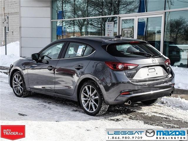 2018 Mazda Mazda3 Sport GT- LEATHER, NAV, BOSE, REAR CAMERA (Stk: 1758) in Burlington - Image 4 of 26