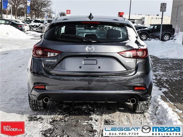 2018 Mazda Mazda3 Sport GT- LEATHER, NAV, BOSE, REAR CAMERA (Stk: 1758) in Burlington - Image 5 of 26