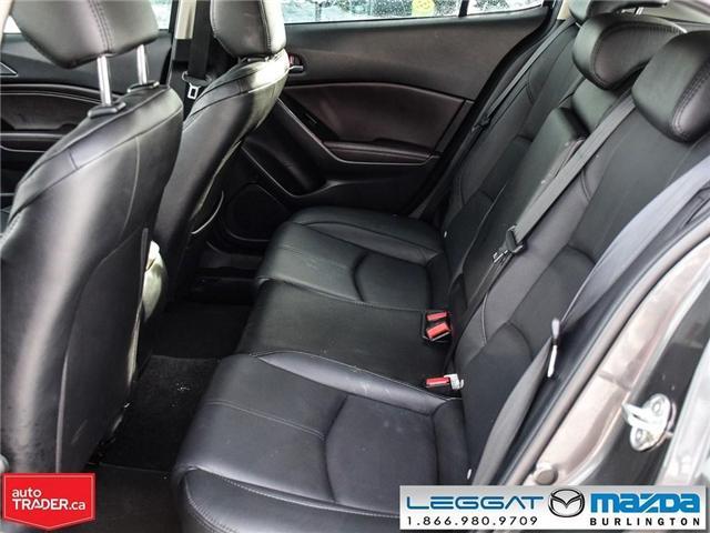 2018 Mazda Mazda3 Sport GT- LEATHER, NAV, BOSE, REAR CAMERA (Stk: 1758) in Burlington - Image 14 of 26