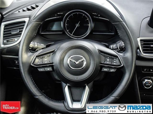 2018 Mazda Mazda3 Sport GT- LEATHER, NAV, BOSE, REAR CAMERA (Stk: 1758) in Burlington - Image 16 of 26