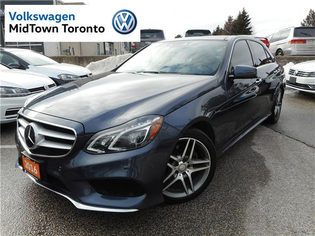 2016 Mercedes-Benz E-Class Base (Stk: P7164) in Toronto - Image 1 of 30