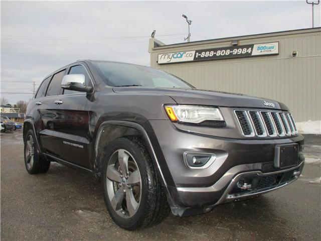 2015 Jeep Grand Cherokee Overland (Stk: 190092) in Kingston - Image 1 of 13