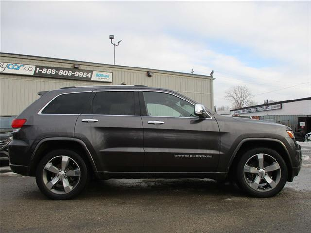 2015 Jeep Grand Cherokee Overland (Stk: 190092) in Kingston - Image 2 of 13