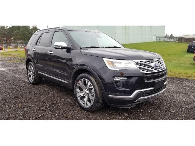 2019 Ford Explorer Platinum (Stk: 19ER0285) in Unionville - Image 1 of 11