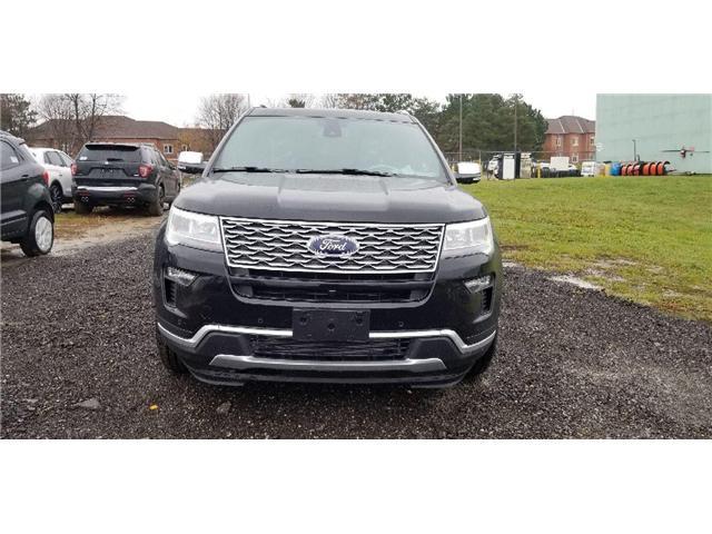 2019 Ford Explorer Platinum (Stk: 19ER0285) in Unionville - Image 2 of 11