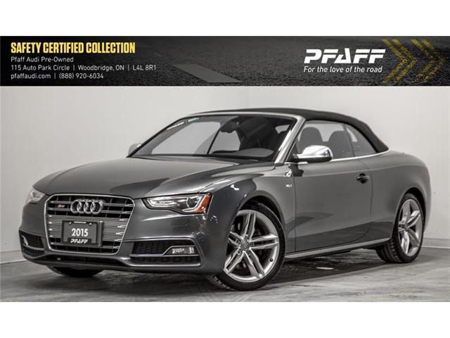 2015 Audi S5 3.0T Technik (Stk: T15210A) in Woodbridge - Image 1 of 19