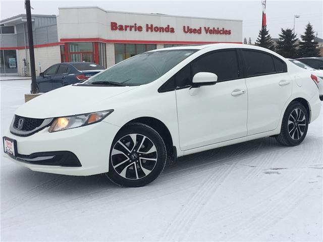 2015 Honda Civic EX (Stk: U15495) in Barrie - Image 1 of 16
