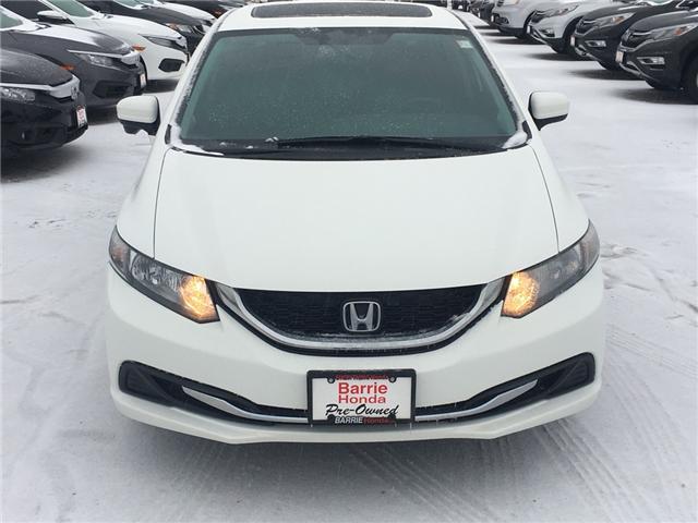 2015 Honda Civic EX (Stk: U15495) in Barrie - Image 2 of 16