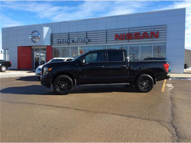 2018 Nissan Titan SV Midnight Edition (Stk: 18-220A) in Smiths Falls - Image 1 of 12