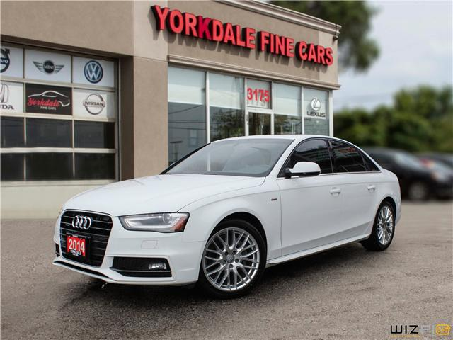 2014 Audi A4 2.0 Progressiv (Stk: D30874) in Toronto - Image 1 of 27