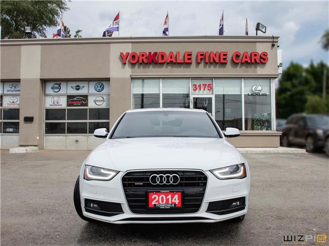 2014 Audi A4 2.0 Progressiv (Stk: D30874) in Toronto - Image 2 of 27