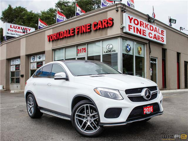 2016 Mercedes-Benz GLE-Class  (Stk: S1976) in Toronto - Image 3 of 26