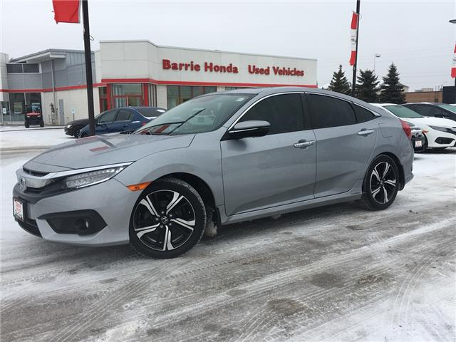 2017 Honda Civic Touring (Stk: U17020) in Barrie - Image 1 of 17