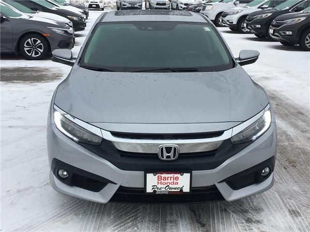 2017 Honda Civic Touring (Stk: U17020) in Barrie - Image 2 of 17
