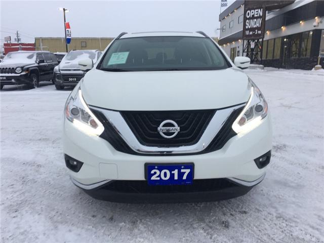2017 Nissan Murano SV (Stk: 18473) in Sudbury - Image 2 of 13