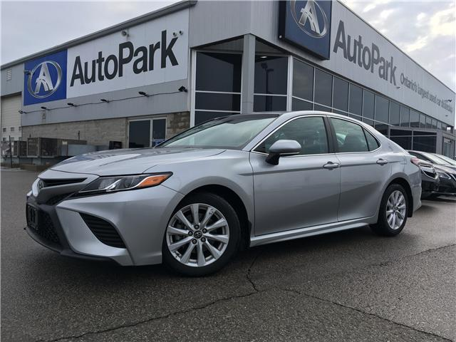 2018 Toyota Camry SE (Stk: 18-80195RJB) in Barrie - Image 1 of 27