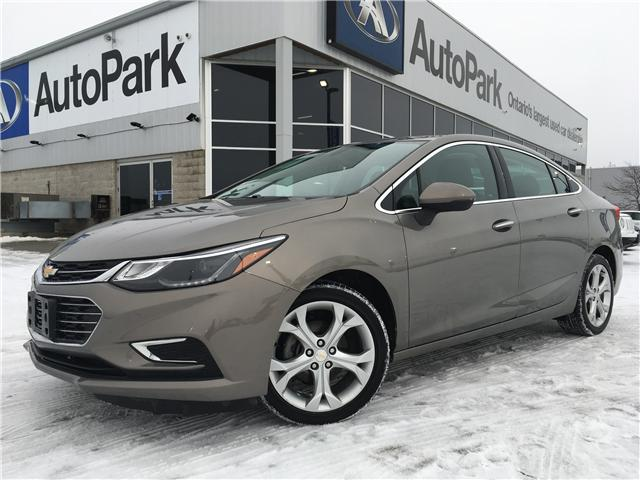 2017 Chevrolet Cruze Premier Auto (Stk: 17-02969RJB) in Barrie - Image 1 of 26
