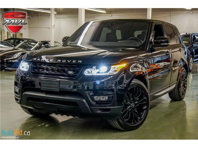 2017 Land Rover Range Rover Sport DIESEL Td6 HSE (Stk: ) in Oakville - Image 1 of 44