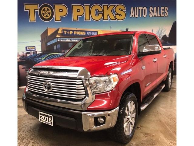 2016 Toyota Tundra Limited (Stk: 540518) in NORTH BAY - Image 1 of 27