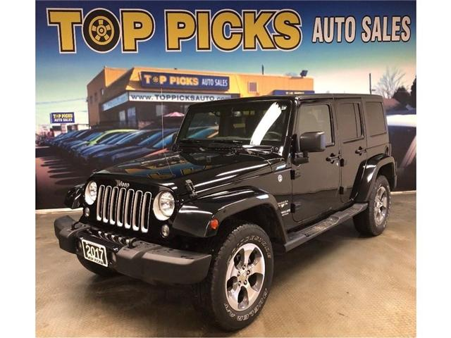 2017 Jeep Wrangler Unlimited Sahara (Stk: 714320) in NORTH BAY - Image 1 of 26