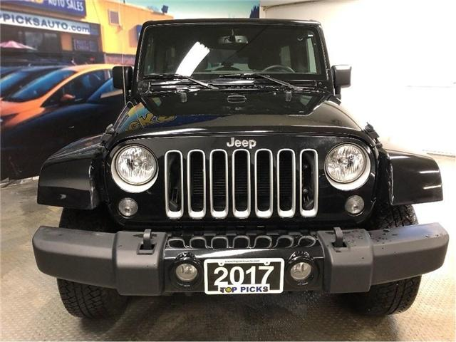 2017 Jeep Wrangler Unlimited Sahara (Stk: 714320) in NORTH BAY - Image 2 of 26