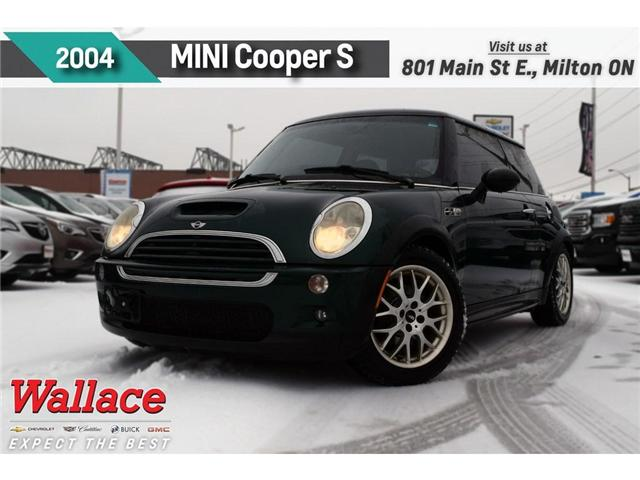 2004 MINI Cooper S SUPERCHARGED!/LTHR HTD SEATS/BLUETH/2 RIMS&TIRES (Stk: 440052B) in Milton - Image 1 of 2