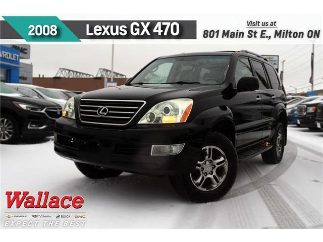 2008 Lexus GX 470 SUNRF/HTD LTHR SEATS/REAR DVD/NAV (Stk: 155460A) in Milton - Image 1 of 2