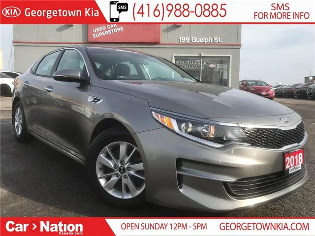 2018 Kia Optima LX HEATES SEATS| ALLOY WHEELS| BLUETOOTH| WARRANTY (Stk: DR486) in Georgetown - Image 1 of 23