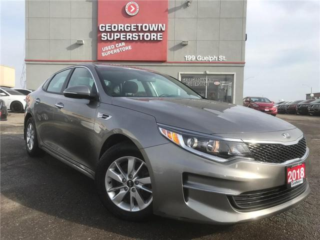 2018 Kia Optima LX HEATES SEATS| ALLOY WHEELS| BLUETOOTH| WARRANTY (Stk: DR486) in Georgetown - Image 2 of 23