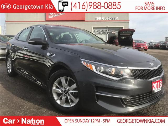 2018 Kia Optima LX HEATED SEATS| ALLOYS| BLUETOOTH| WARRANTY (Stk: DR485) in Georgetown - Image 1 of 26